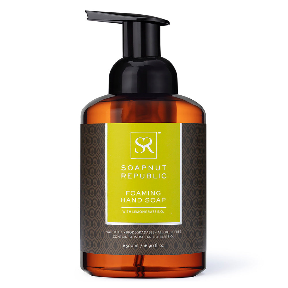 Foaming Hand Soap - Lemongrass Essential Oil | 檸檬草精油泡沫洗手液