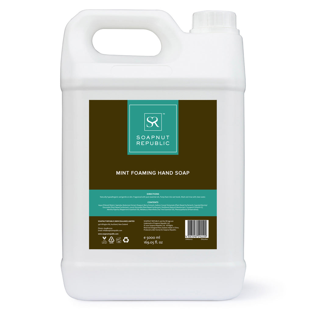 Foaming Hand Soap - Mint Essential Oil (5L) | 薄荷精油泡沫洗手液 (5L)