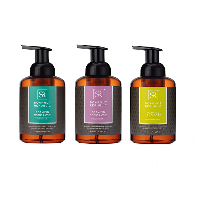 Foaming Hand Soap - Essential Oils Bundle | 洗手液三件套