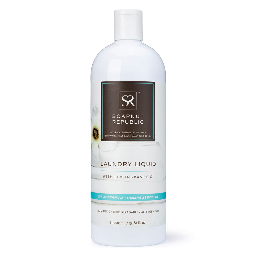 Laundry Liquid - Lemongrass Essential Oil | 檸檬草精油洗衣液