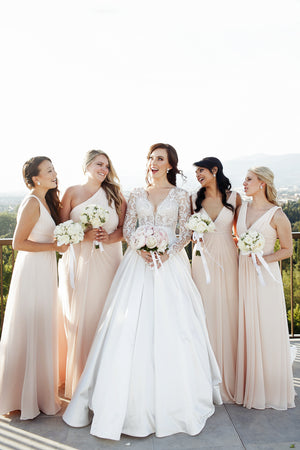 Is it OK to ask your Bridesmaids to pay for their own Dresses ?