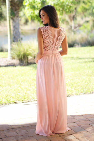 Genna Chiffon Dress
