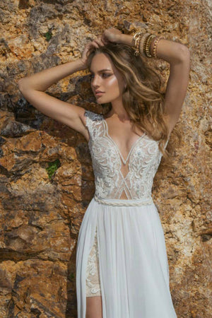 Edna bohemian Wedding Dress