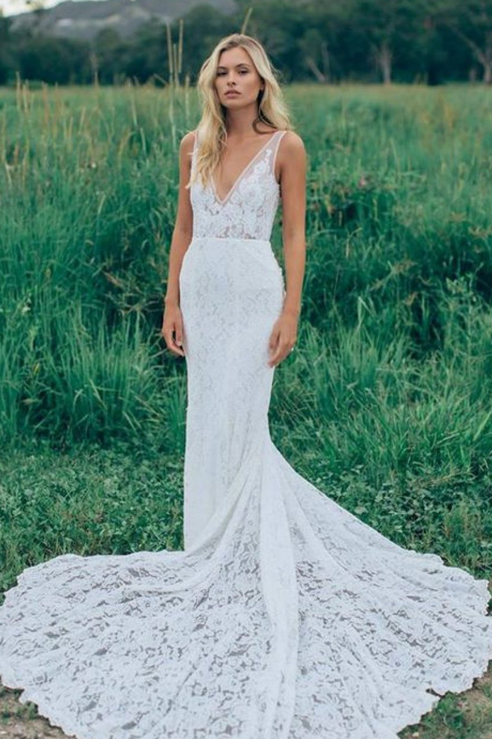 Mermaid Wedding Gown The Lovely Find Wedding Gown