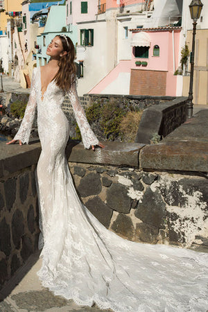 Winter Bells Mermaid Wedding Dress