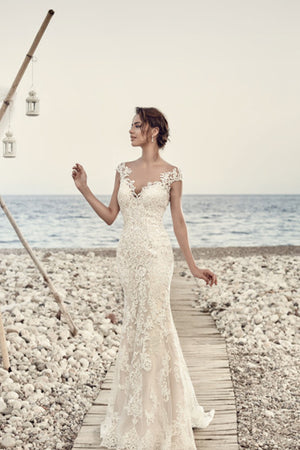 Tulip Lace Wedding Dress