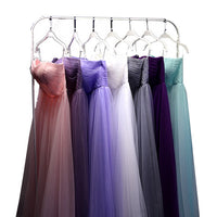 Long Tulle Bridesmaid Convertible Dress
