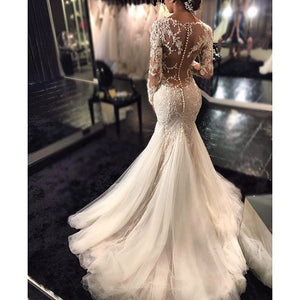 Arabic Style Mermaid Gown