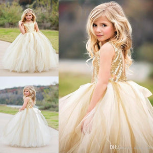 Tulipcliff Flower Girl Dress