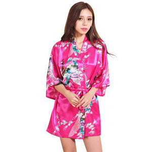 Silk Satin Robe for Brides and Bridesmaids
