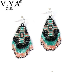 Indian Boho Drop Earrings