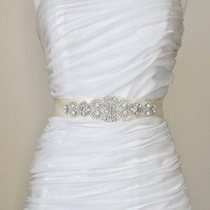 bridal sashes and wedding dress belts