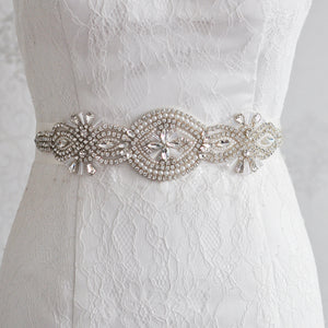Polly Pearls and Diamond Belt