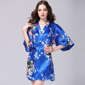 ORIENTAL FLORAL/PEACOCK DESIGN - SHORT LENGTH