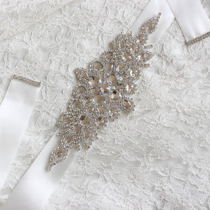 Matilda Crystal Wedding Belt