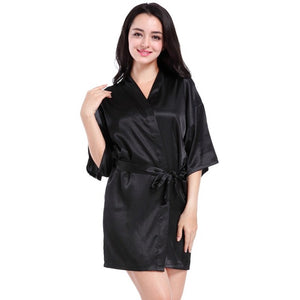 SALE: SILKY MINI ROBES