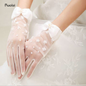 Tulle Bridal Glove