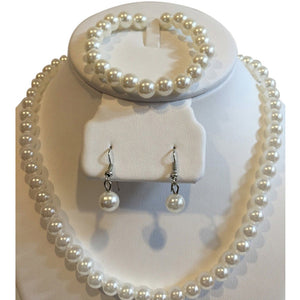 Classic Pearl Set Bridal Accessories