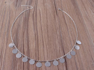 Clara Coin Choker Necklace