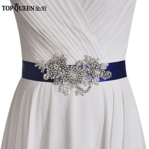 Leila Bridal Sash Belt