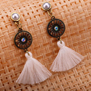 Boho Tassel Dangle Earrings