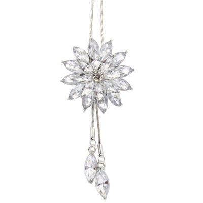 Women Charm Bridal Engagement Crystal Rhinestone Snowflake Pendant Nec -  The Lovely Find 0d81a81c91cd