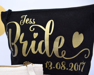 Lorelie Personalized Toiletry Bag