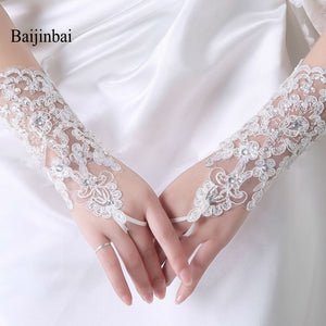 Luxury Lace Fingerless Gloves