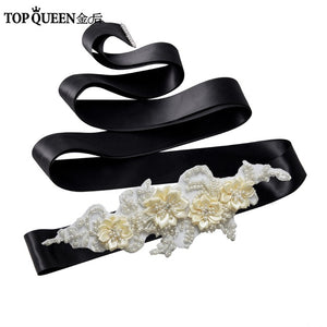 Jennah Wedding Sash Belt