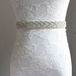 Slim Jade Wedding Belt