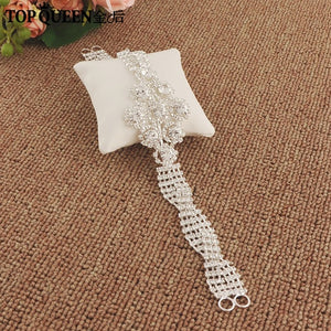 Beth Crystals Wedding Belt