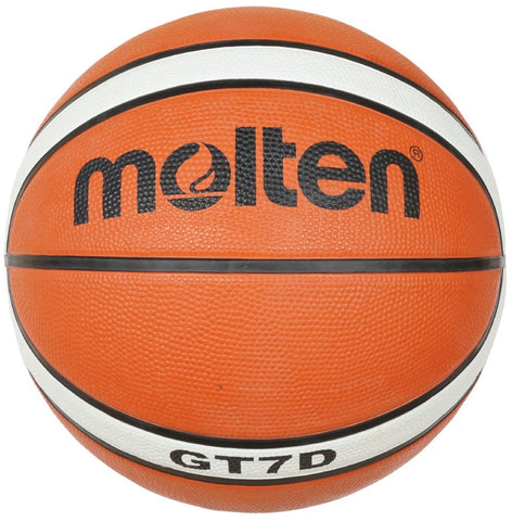 BGTX Series Basketball - Tan/White