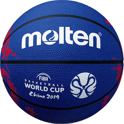 FIBA World Cup Rubber Basketball - Blue