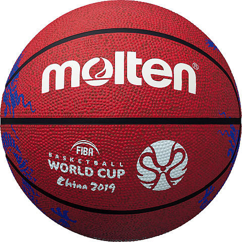 4aba1caf925871 FIBA World Cup Rubber Basketball - Red