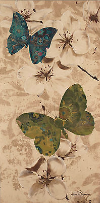 Giclee Canvas Art Print Megan F. Spencer 'Butterflies 2' 100x50cms