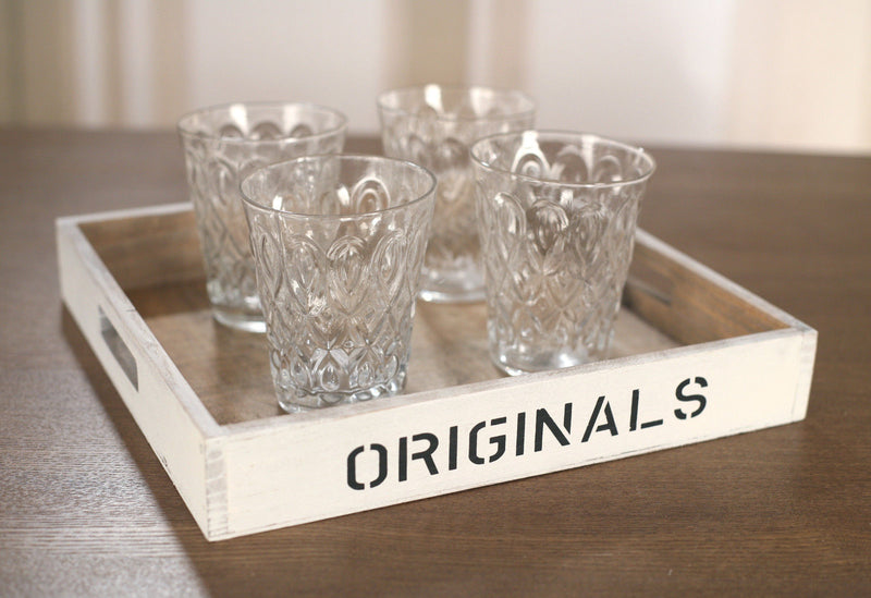 4 x Tumbers Glassware Classic Handmade High Quality Glasses Set Cups 300ml