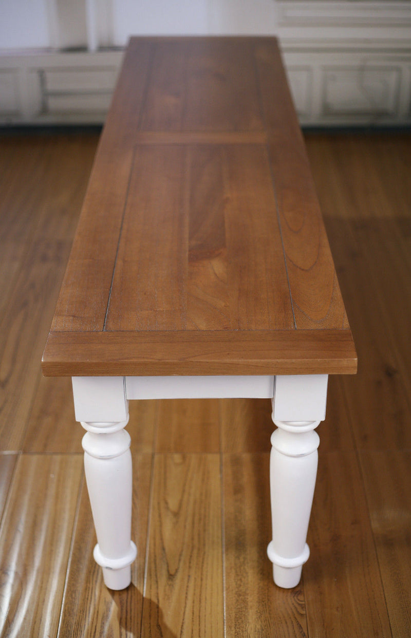 Bench Seat French Provincial Hardwood Dining Table Seat 160cms BRAND NEW