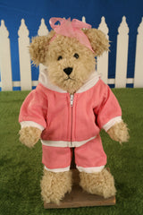 Uncle Beans Bears 'Tilley' Handmade Teddy Bear Jointed Legs 42cms BRAND NEW