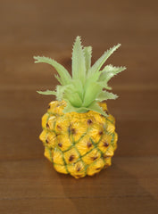 12 x Artificial Pineapples Mini Fake Fruit Faux Food Home Decor Kitchen 11cms
