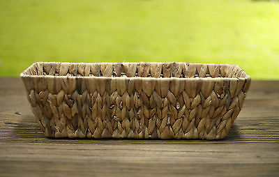 Woven Table Centre Planter Box Home Decor Gift Homewares 40cms BRAND NEW