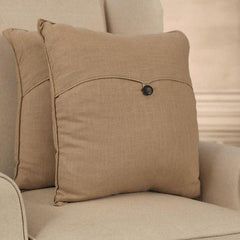 100% Linen Decorator Cushion Covers - Square or Lumbar Earth