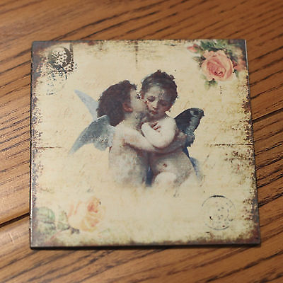 Fridge Magnet Cherub Gift Strong Hold Home Decor 8cms