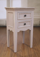 Bedside Table Hamptons French Provincial White Side Chest Night Stand NEW