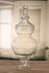 Glass Jar Table Centre Lolly Buffet Apothecary 55cms
