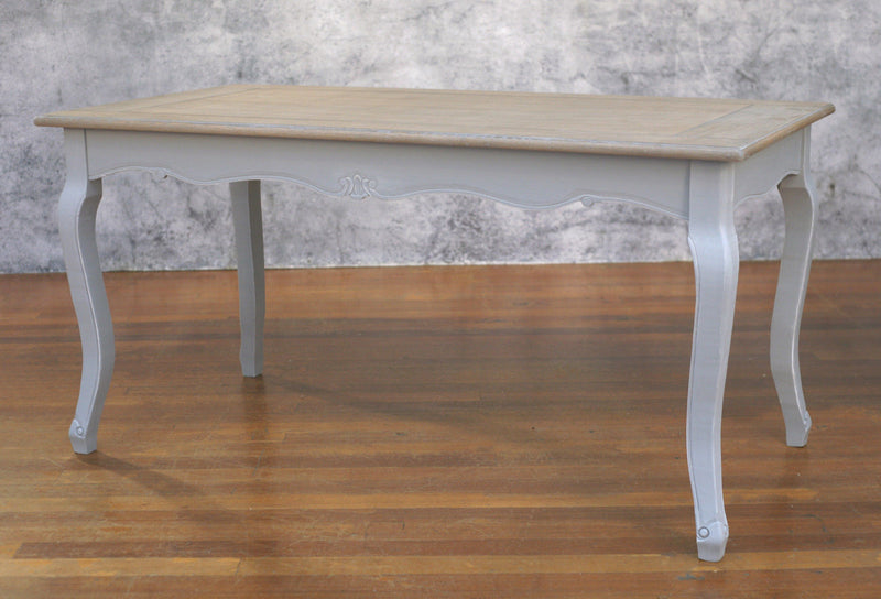 Dining Table 160x80cm French Provincial Timber Top