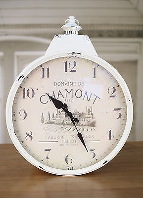 Clock Provincial Rustic 'Chamont' 60cms