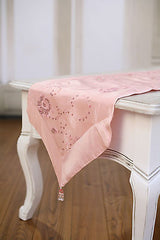 Table Runner Pink with Sequins Home Decor Kids Party Decoration 150cms