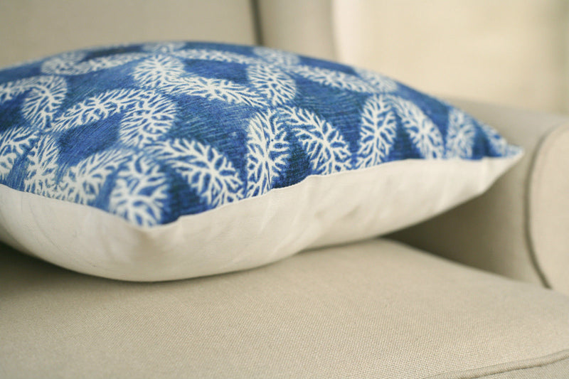 Decorator Cushion Filled 45x45cms - 'Moroccan Blue'