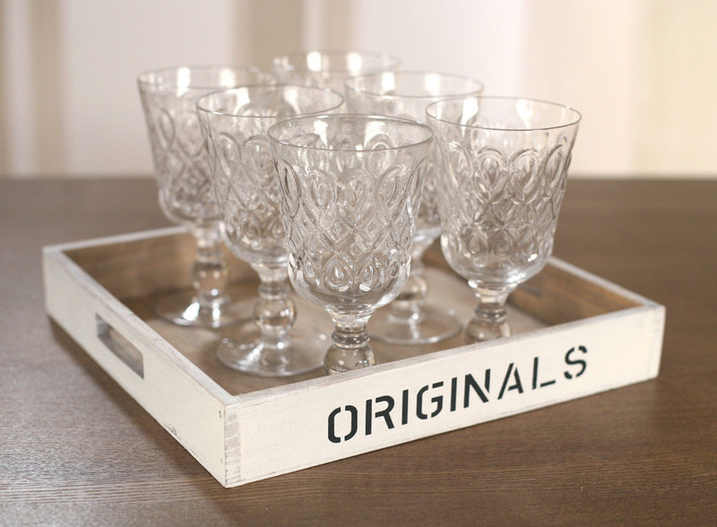 8 x Wine Glass Set Classic Handmade Stemware High Quality Glasses Cups 300ml