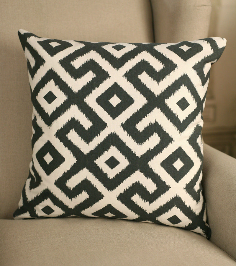 Decorator Cushion 45x45cms Contemporary Inca Throw Pillow
